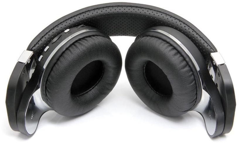 Ausinės Bluedio T2 Plus Bluetooth Headphones Black