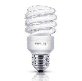 Kompaktinė liuminescencinė lempa Philips T3, 12W, E27, 2700K, 656lm