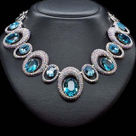 Diamond Sky Necklace Safi's Charm With Swarovski Crystals