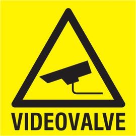 Ohutusmärk Videovalve PVC