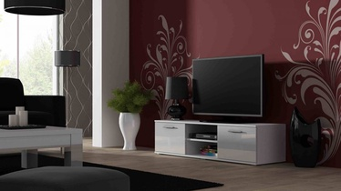 Cama Meble Soho 140 TV Stand White/White Gloss