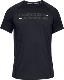Under Armour MK-1 Wordmark Short Sleeve T-Shirt 1327248-001 Black XL