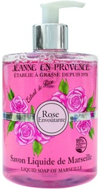 Jeanne en Provence Rose Envoutante 500ml Liquid Soap