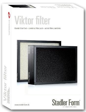 Stadler Form V010 Filters set for Viktor Black/White
