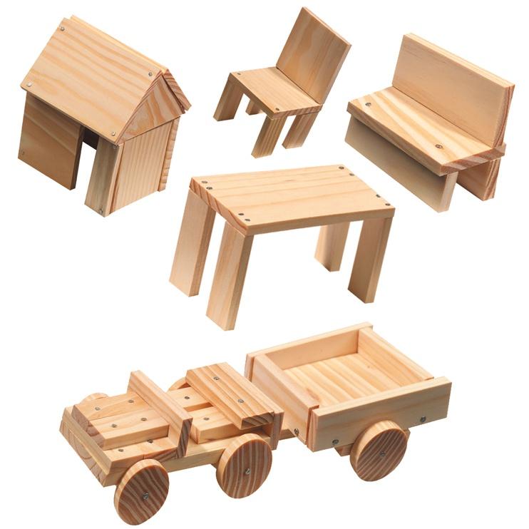 SES Creative Children's Woodwork Set 00943