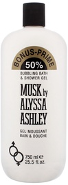 Alyssa Ashley Musk 750ml Shower Gel