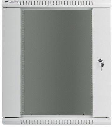 Lanberg Wall-Mounted Rack 19'' 15U 570x450mm Grey