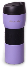 Kamille Vacuum Flask 420ml Purple KM2017