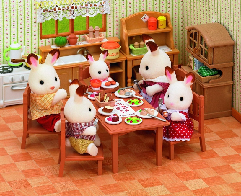 Epoch Sylvanian Family Doll's House Dining Table 2933