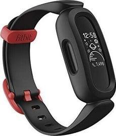 Išmanioji apyrankė Fitbit Ace 3, juoda/raudona