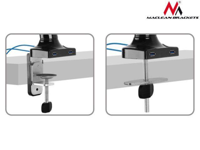 """Televizoriaus laikiklis Maclean MC-673 Desk Mount 13""""-27"""""""