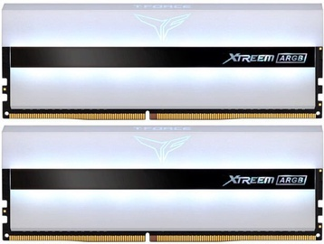 Team Group T-Force Xtreem ARGB White 16GB 3600MHz CL18 DDR4 KIT OF 2