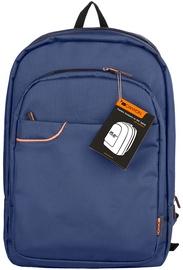Canyon Sleek Backpack For Laptops 15.6'' Blue