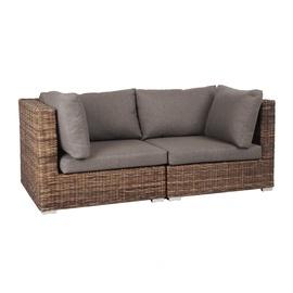 Home4you Croco Garden Sofa Brown