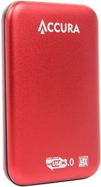 Accura Premium ACC4128 HDD Enclosure Red