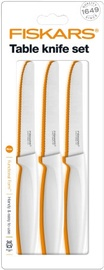 Fiskars Functional Form Table Knife Set 3pcs White