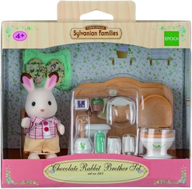 Žaislinė figūrėlė Epoch Sylvanian Families Chocolate Rabbit Brother Set 2203