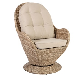 Home4you Brussel Rotating Garden Chair Beige