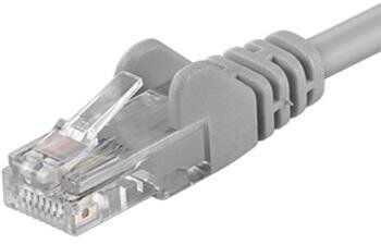 PremiumCord UTP Cat6 Patch Cable 20m Grey