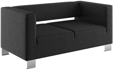 Dīvāns Skyland, melna, 80 x 160 x 73 cm