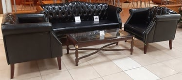 MN Leather Sofa Set F2308 3+1+1