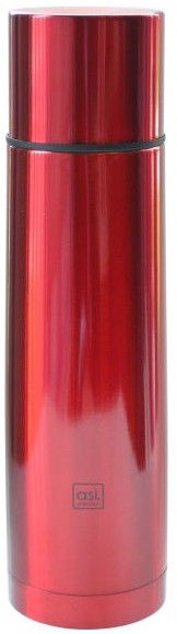 Asi Collection Thermos 1L Stainless Steel Red