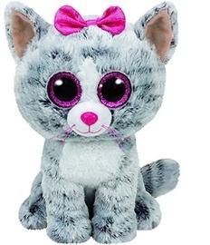 TY Beanie Boos Kiki Grey Cat 15cm