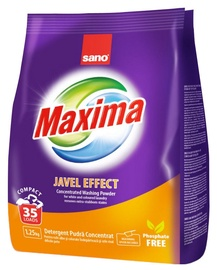 Veļas pulveris Sano Maxima Javel Effect Concentrated, 1.25 kg