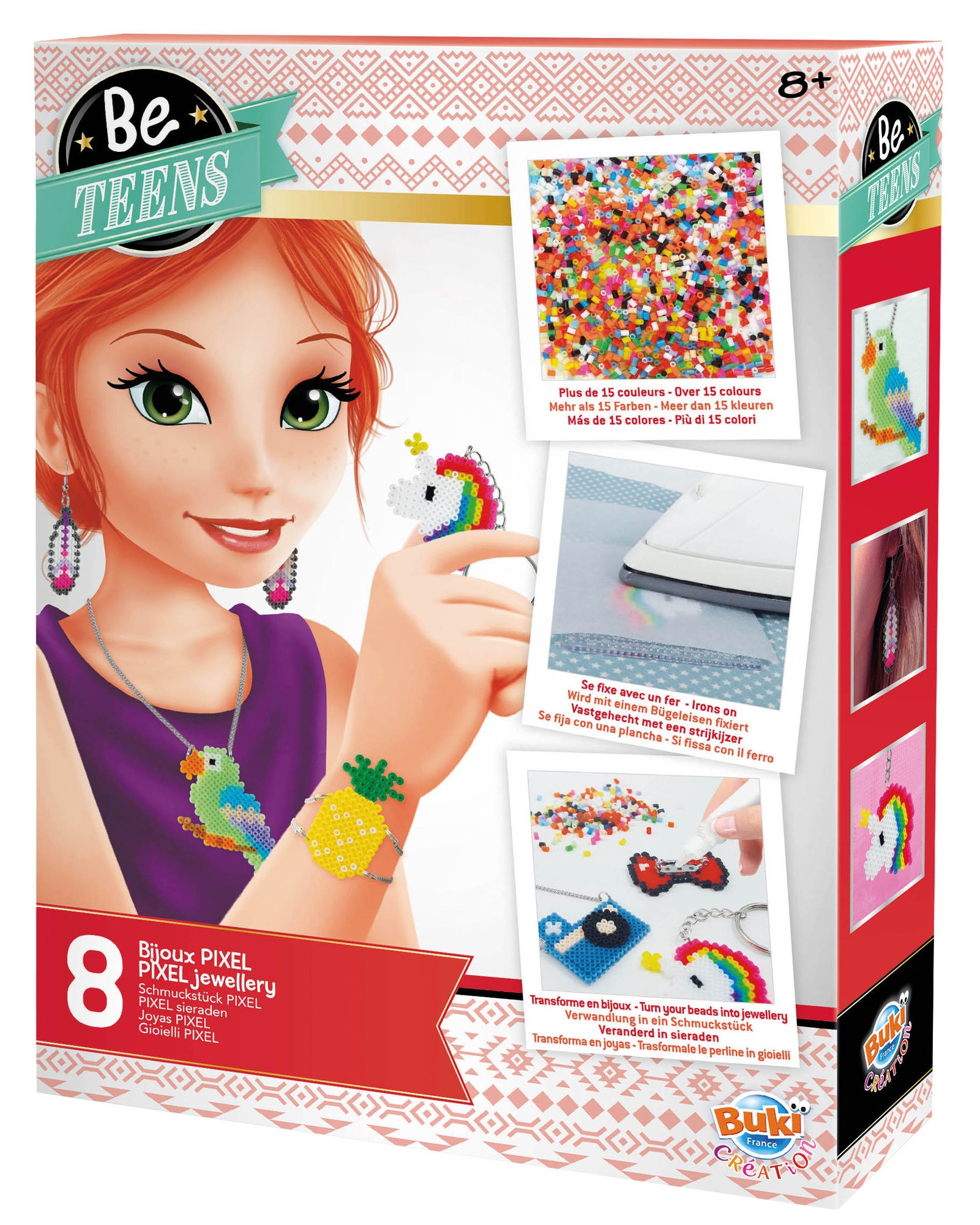 1a Farben.Buki France Be Teens Pixel Jewellery Be103i
