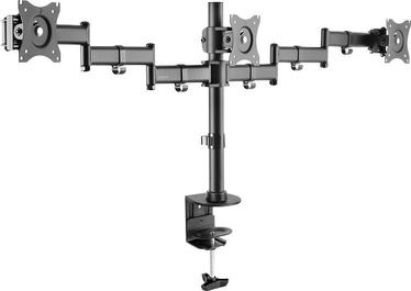 """Televizoriaus laikiklis LogiLink Triple Monitor Desk Mount 13 - 27"""""""