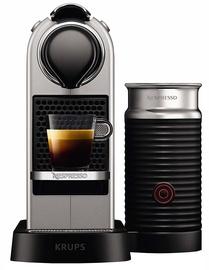 Kafijas automāts Krups Nespresso Citiz & Milk XN760B Silver
