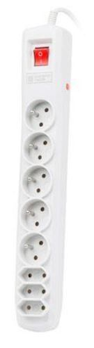 Natec Surge Protector 8 Outlet Grey 5m