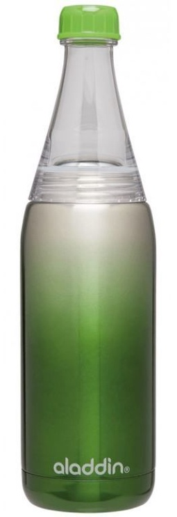 Aladdin Fresco Twist & Go Thermos Bottle 0.6l Green