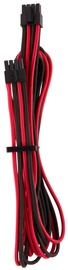 Premium Individually Sleeved EPS12V/ATX12V Cables Type 4 (Gen 4) Red/Black
