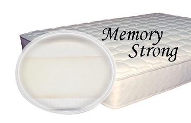 Matracis SPS+ Memory Strong, 200x200x23 cm