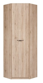 Black Red White Executve SFZN1D Wardrobe San Remo Oak