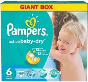Pampers Active Baby-Dry S6 66