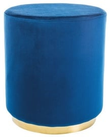 Signal Meble Pouf Furla Gold/Blue
