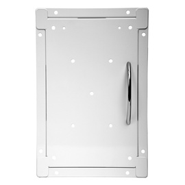 Europlast Access Panel 200x250mm Steel White
