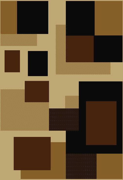 Kilimas Oriental Weavers 5094 - D, rudas/geltonas/smėlio, 150x100 cm