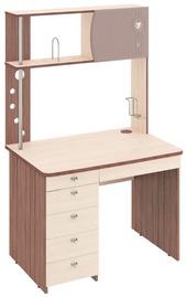 DaVita Orion 8.10 Desk Cappuccino/Koburg Oak