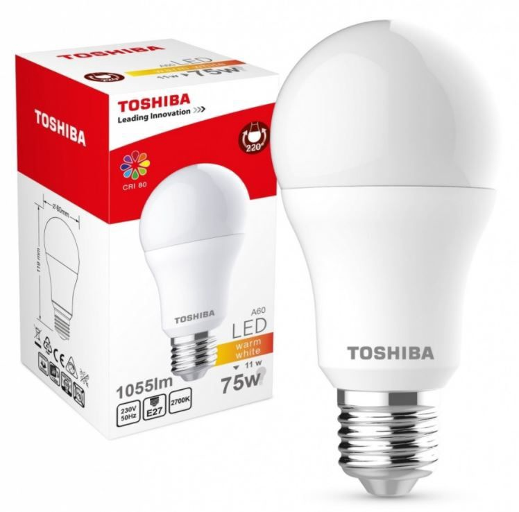 Toshiba LED Lamp 11W White