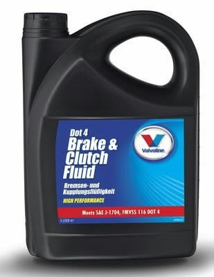 Valvoline Brake & Clutch Fluid DOT4 5l