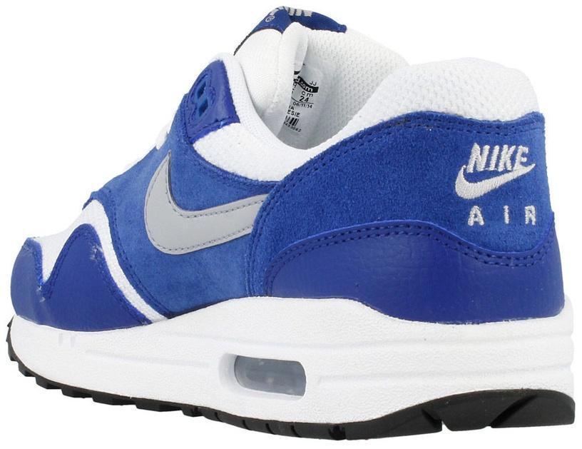 Nike Sneakers Air Max 1 Gs 555766-111 Blue 38.5