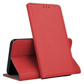 Mocco Smart Magnet Book Case For LG G7/G7 ThinQ Red