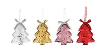 Ziemassvētku rotājums paillette eglītes