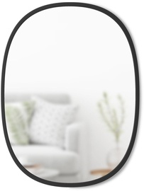 Umbra Hub Oval Mirror Black
