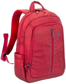 Rivacase 7560 Laptop Backpack 15.6'' Red