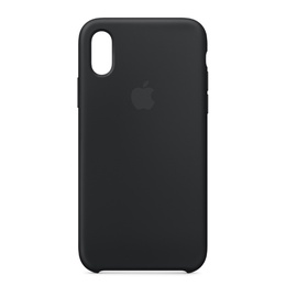 Case telephone Iphone XS silicone black