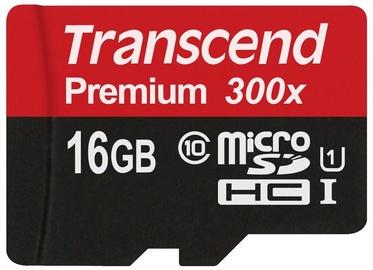 Transcend 16GB Micro SDHC Premium UHS-I Class 10